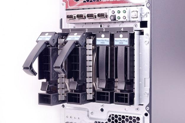 Baie de disque dur Photo Premium