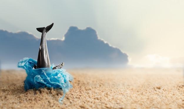 Pollution - Baleine échouée - Extinction - Espèce en voie de disparition - Plastique - Déchets - SchoolMouv - Géographie - CM1