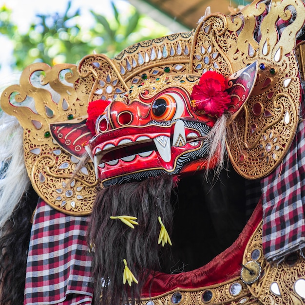 Bali barong dance Photo Premium