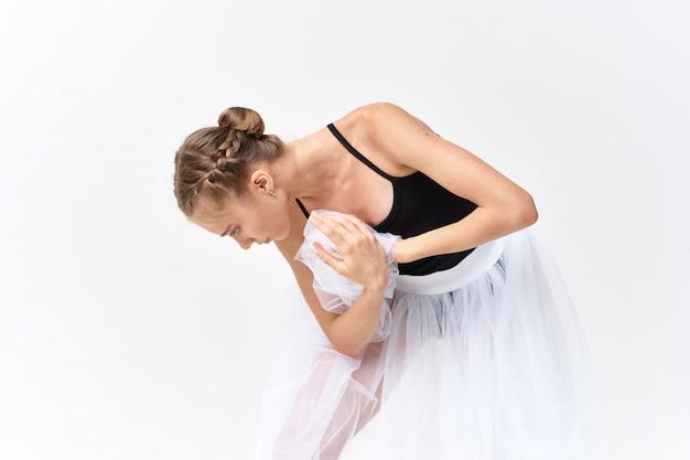 Ballerine, Danse, Ballet, Lumière Photo Premium