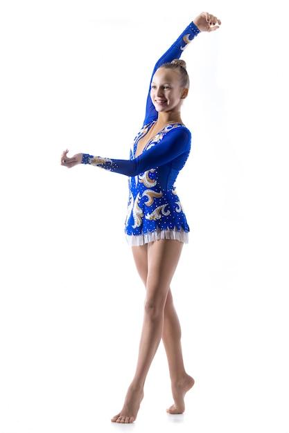 Ballerine enchanteur fille danse Photo gratuit
