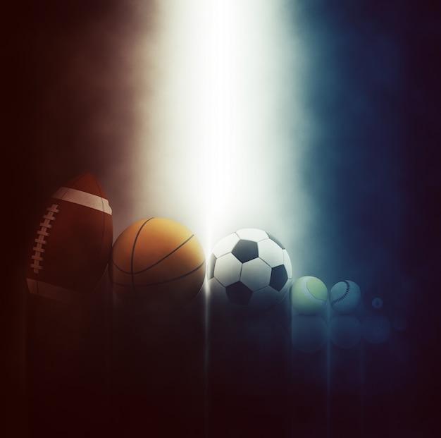 Balles De Sport Différents Photo gratuit