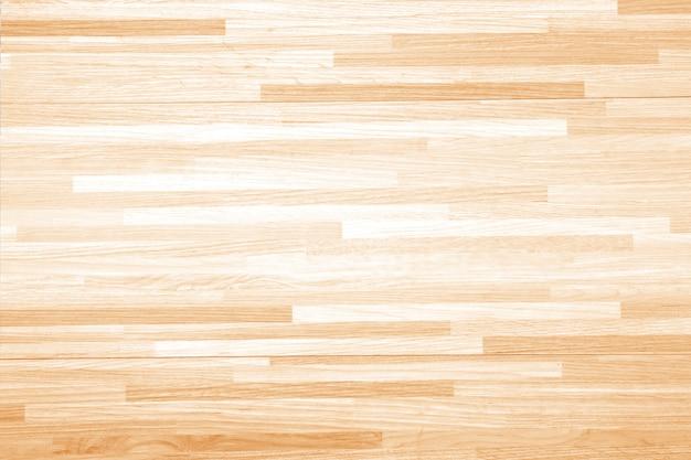 Ballon de basketball en bois dur Photo Premium