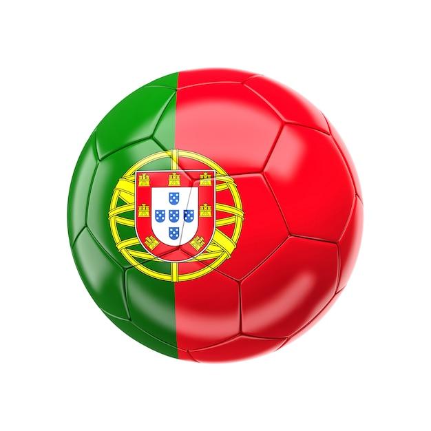 Ballon de foot du portugal Photo Premium