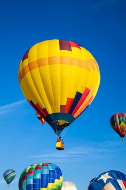 Ballons à air chaud Photo gratuit