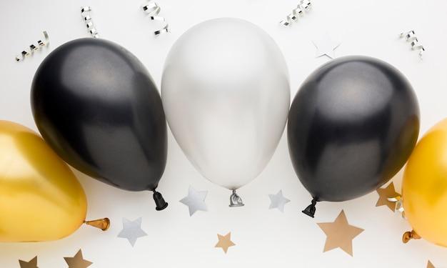 Ballons Colorés Pour La Fête Photo Premium