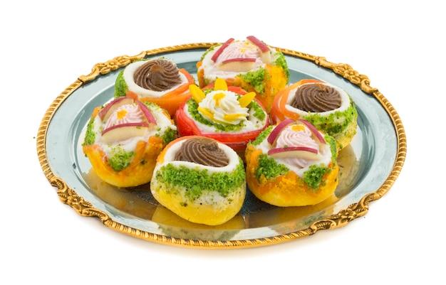 Bangali sweet food Photo Premium