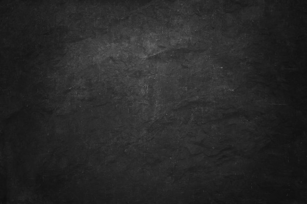 Bannière de tableau noir et noir à la craie, mur intérieur blanc et salle de studio pour le produit présenté Photo Premium