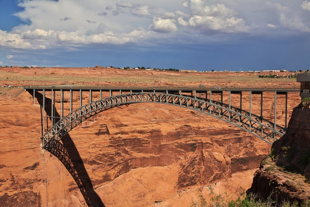 Barrage Sur Le Fleuve Colorado En Arizona, Paige Photo Premium