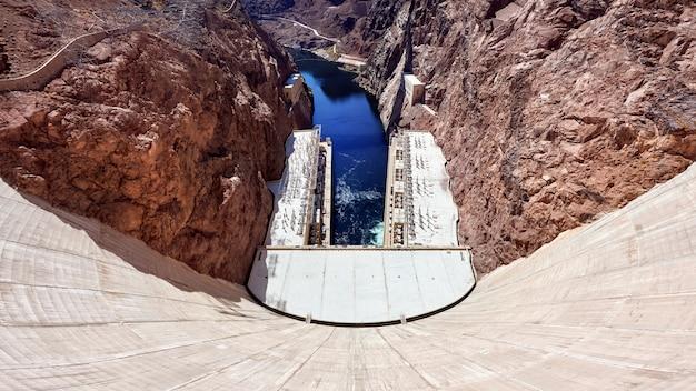 Barrage Hoover Dans Le Nevada, Usa Photo Premium