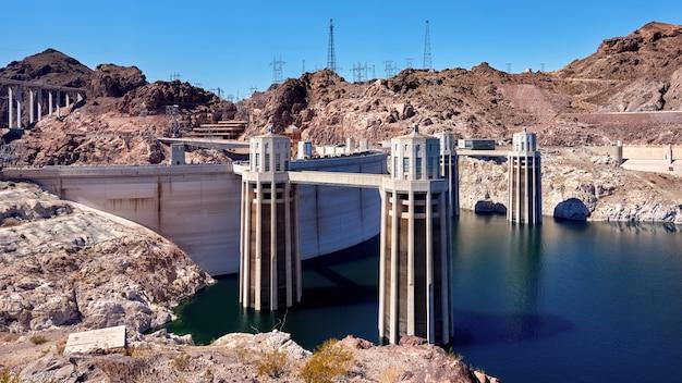 Barrage Hoover Dans Le Nevada, Usa Photo gratuit
