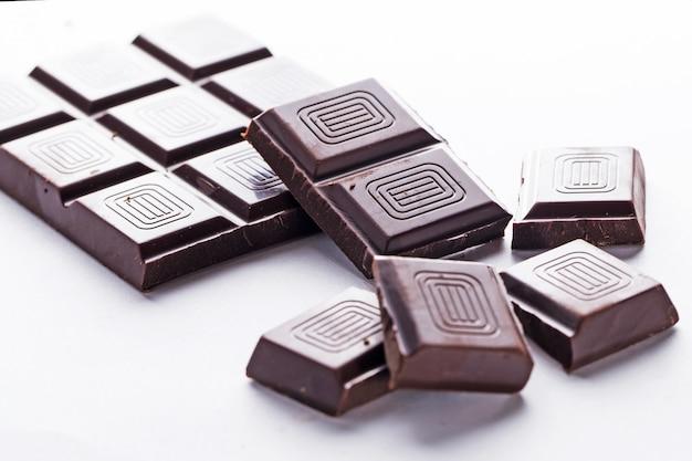 Barre de chocolat noir Photo gratuit
