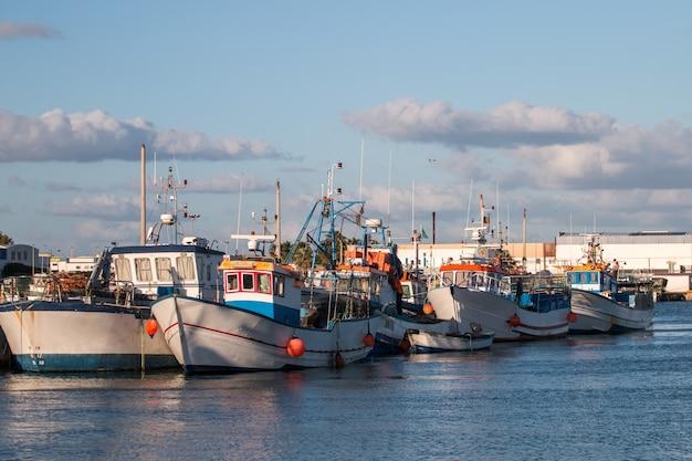 Bateaux de pêche traditionnels Photo Premium