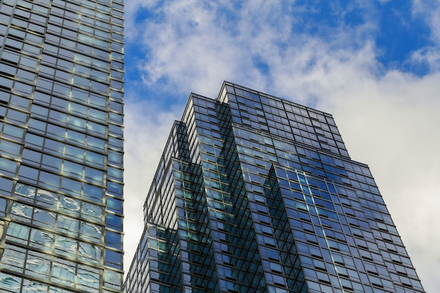 Bâtiment à manhattan - new-york - usa Photo Premium