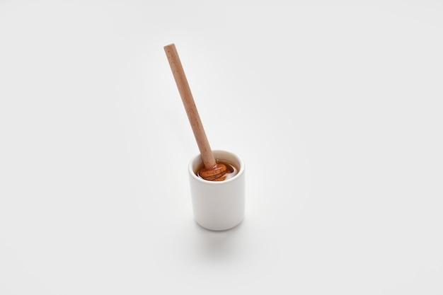 Bâton de miel en bois Photo gratuit