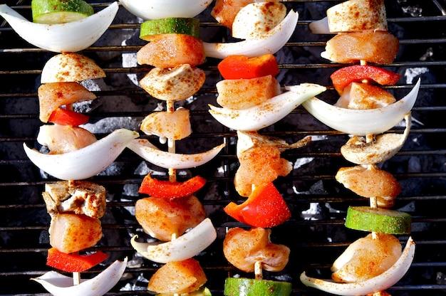 Bbq kebab Photo gratuit