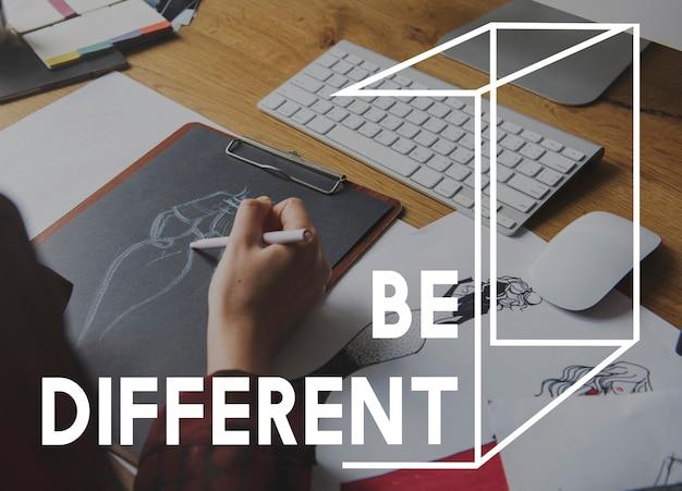 Be difference carrière vie motivation inspirer passion perspective Photo gratuit