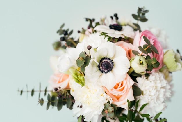 Beau bouquet de mariage Photo gratuit