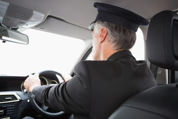 Beau chauffeur Photo Premium