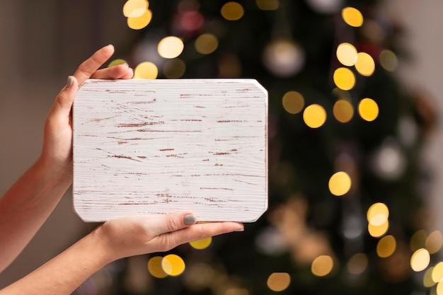 Beau Concept De Noël à La Maison Avec Espace Copie Photo gratuit