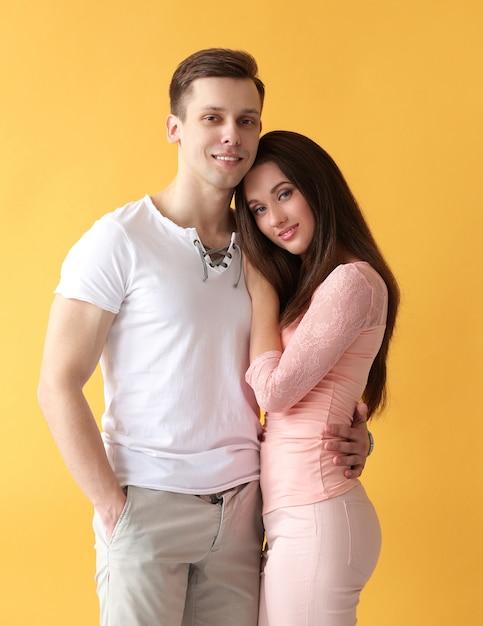 Beau Couple Photo gratuit
