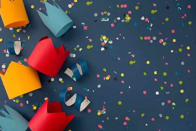 Beau Fond Coloré Pour Féliciter L'anniversaire Photo gratuit