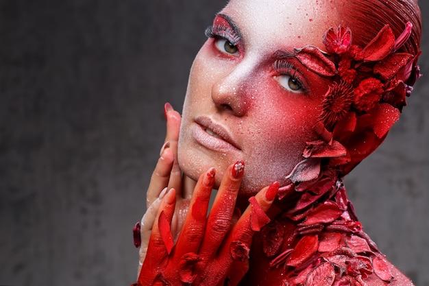 Beau Maquillage Artistique Photo gratuit