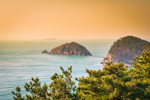 Un Beau Paysage Des îles Photo Premium