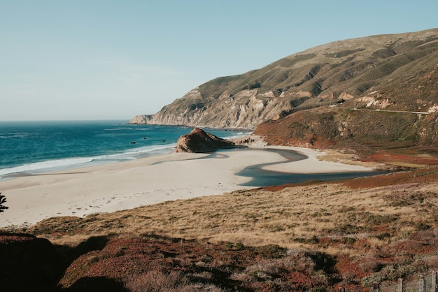 Beau Paysage D'un Point Reyes National Seashore à Inverness, Usa Photo gratuit