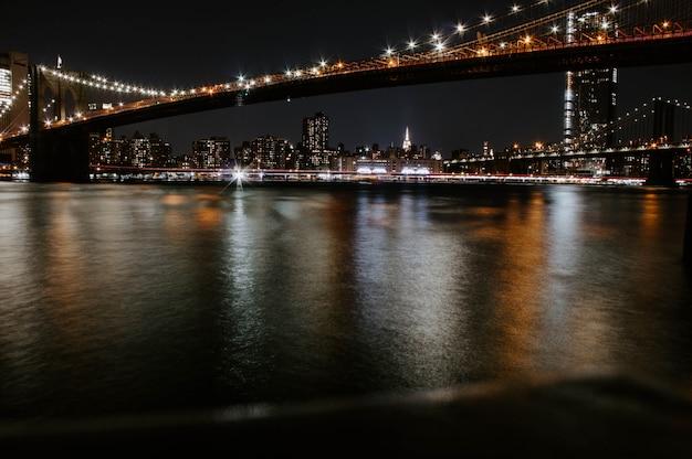Beau Pont De Manhattan Photo gratuit
