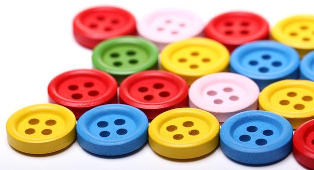 Beaucoup De Boutons Colorés Photo gratuit