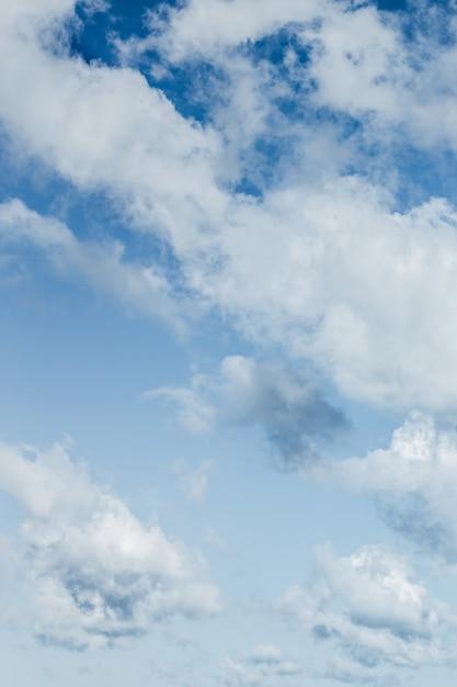 Beaux nuages Photo gratuit