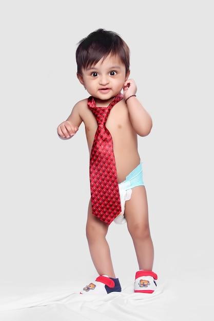 Bébé indien Photo Premium