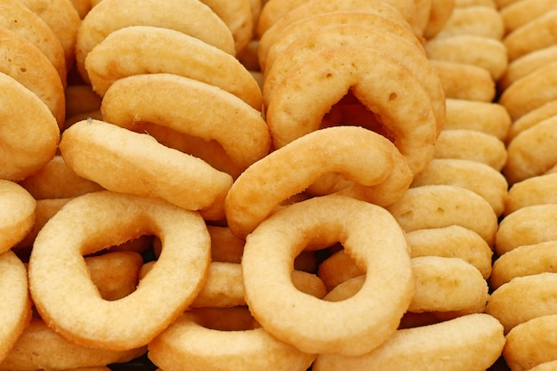Beignets au street food Photo Premium