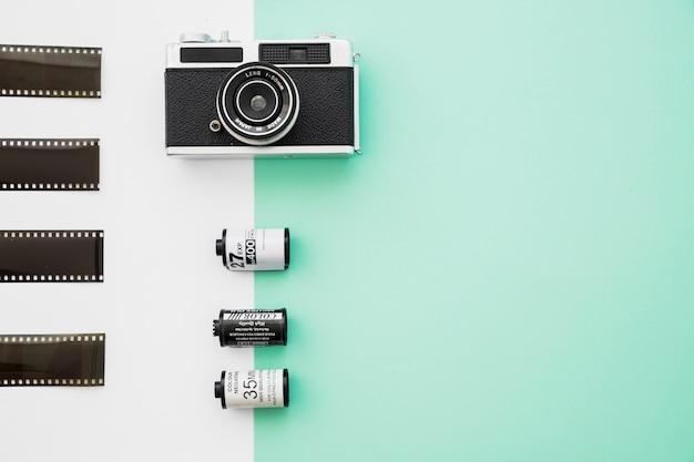 Belle caméra près du film Photo gratuit