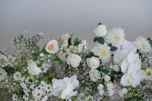 Belle décoration florale Photo Premium