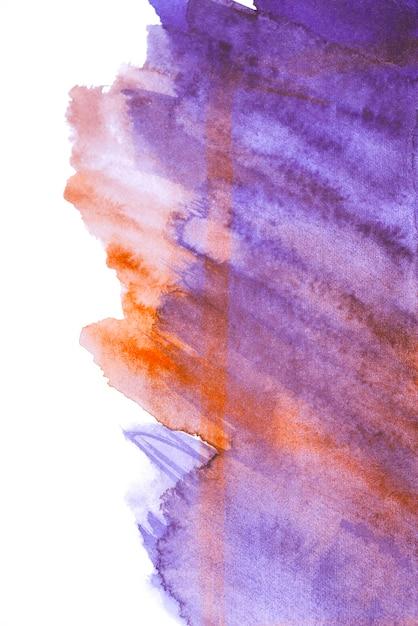 Belle éclaboussure de texture aquarelle Photo gratuit