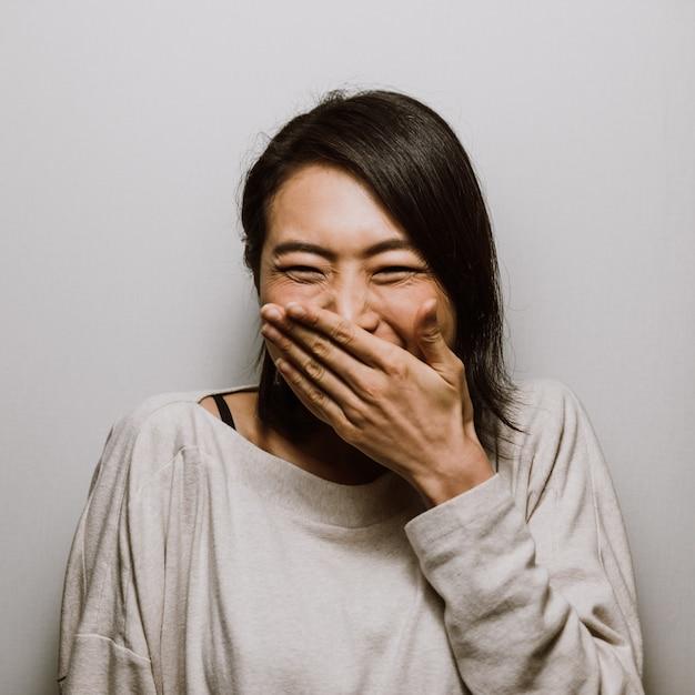 Belle Femme Japonaise, Moments De Vie Photo Premium