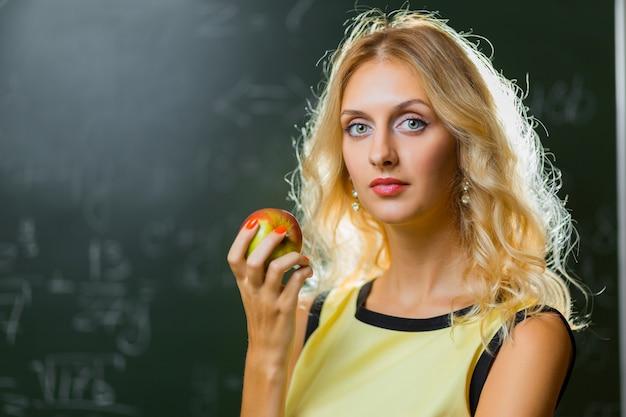 Belle jeune prof Photo Premium