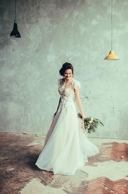 Belle mariée sexy Photo Premium