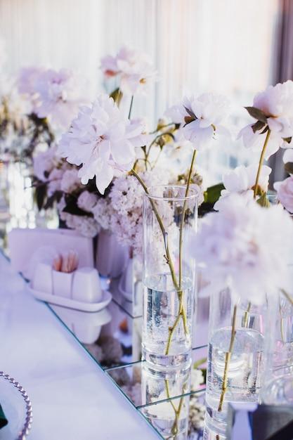Belle Photo De Fleurs Aux Nuances Délicates Photo gratuit