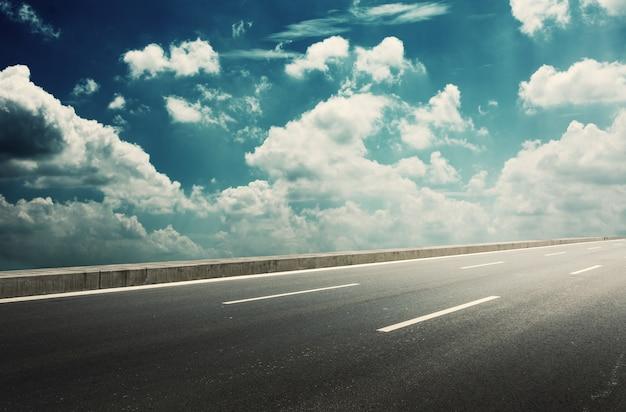 Belle route Photo gratuit