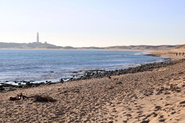 Belle vue sur le phare Photo gratuit