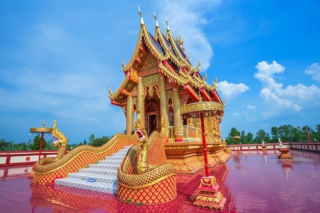 La belle de wat pipatmongkol est un temple bouddhiste Photo Premium