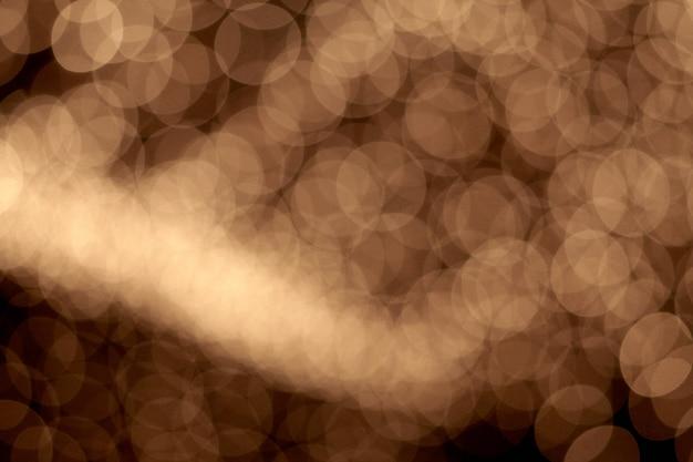 Belles Lumières De Noël Avec Des Lumières Bokeh Photo Premium