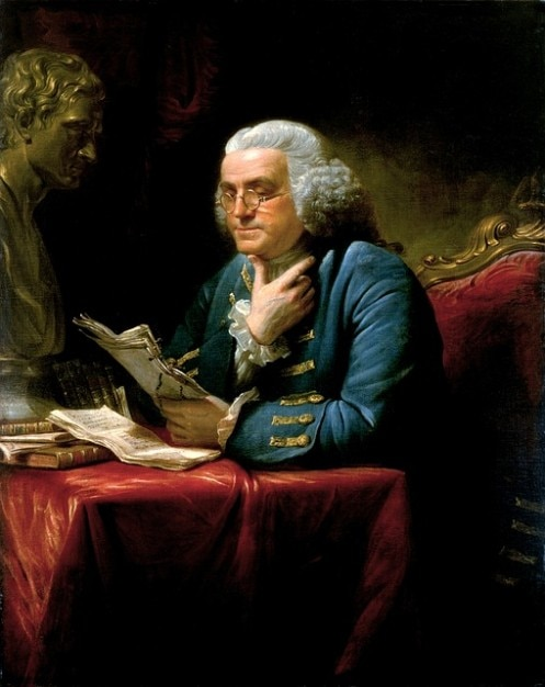 Benjamin Franklin Scientifiques écrivain Naturel Photo gratuit