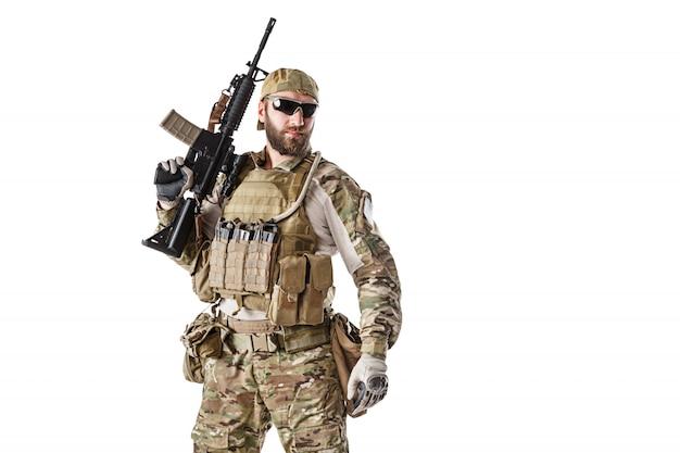 Béret Vert De L'armée Américaine Photo Premium