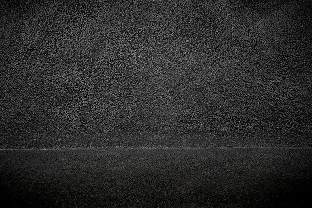 Béton noir vide avec texture et fond de surface de décoration en pierre grise. Photo Premium