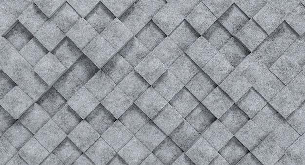 Béton De Texture Géométrique Carrée Photo Premium