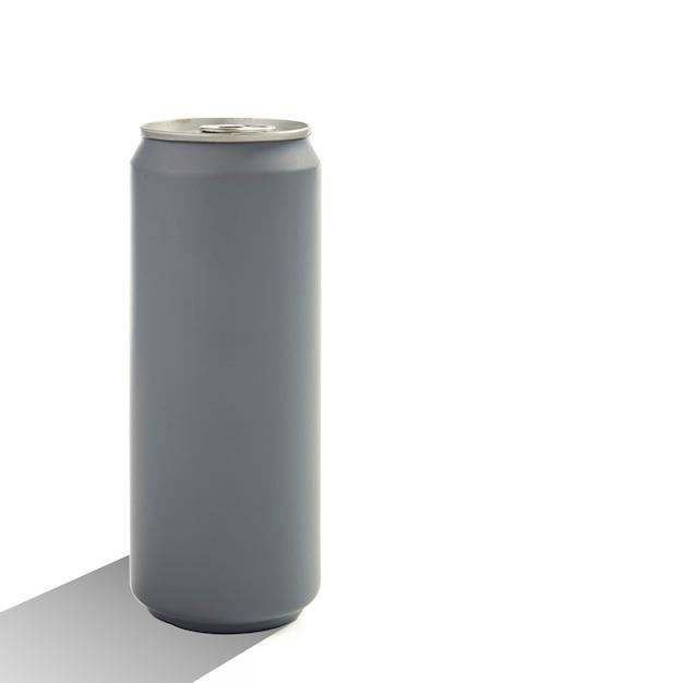 Bidon D'aluminium Isolé Photo Premium